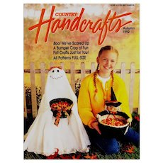 Country Handcrafts Magazine Autumn 1992