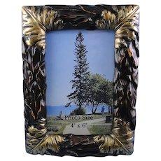 Photo Frame Leaves Design 4x6 Size