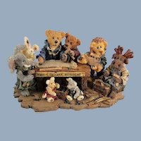 Boyds Bears Noah and Company Ark Builders Limited Edition
