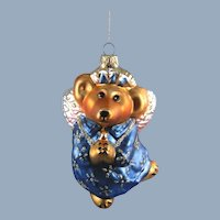 Boyds Bears Angel Mercury Glass Ornament Limited Edition