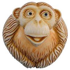 Harmony Kingdom Dizzie Roly Poly Monkey Box Figurine