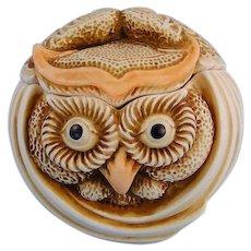 Harmony Kingdom Mostel Roly Poly Owl Box Figurine Adam Binder