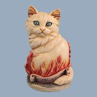 Harmony Kingdom Cosa Nostra Cat Phoenix Treasure Jest