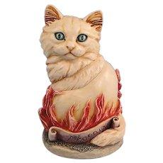 Harmony Kingdom Cosa Nostra Cat Phoenix Treasure Jest