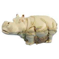 Harmony Kingdom Hippo Treasure Jest Box Straight From the Hip