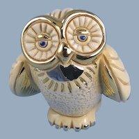 Artesania Rinconada Owl White Limited Edition DeRosa