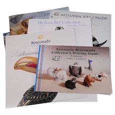 Artesania Rinconada Collectors Pricing Guide Book 1998 with Brochures