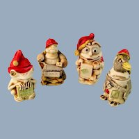 Harmony Kingdom Holiday Ornament Set Limited Edition