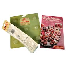 Wilton Candy Making Book with Mold Accessories
