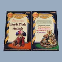 Boyds Bears Set of Two Collector Value Guides Books