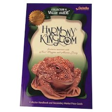 Harmony Kingdom Collectors Guide Book