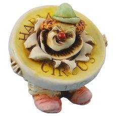 Harmony Kingdom Circus Bozini Clown Figurine Limited Edition