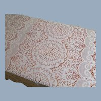 Lace Tablecloth Rectangle Vintage