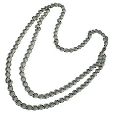 Vintage Sarah Coventry Chain Necklace Silvertone Multiple Uses