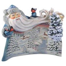 DeBrekht Wonderland Santa Russian Folk Art