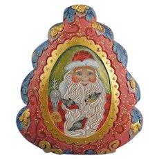 G. DeBrekht Santa Spirit of Christmas Box