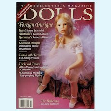 DOLLS Collector's Magazine Oct 1996