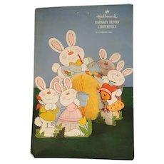 Hallmark Barnaby Bunny Centerpiece 1970s Vintage