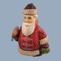 G. DeBrekht Santa of Peace Russian Folk Art Signed