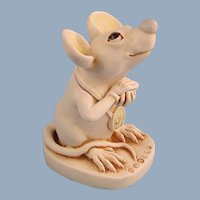 Harmony Kingdom Mouse That Roared Treasure Jest Collectors Club