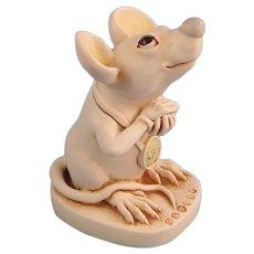 Harmony Kingdom Mouse That Roared Treasure Jest Collectors Club