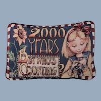Mary Engelbreit Pillow Year 2000