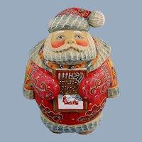 G. DeBrekht Storytime Santa Russian Folk Art