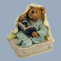 Boyds Bearstone Fraidy Bear 1E Figurine