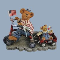 Boyds Bearstone Ross with Betsy Parade Limited Edition 1E