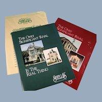 Shelia's 1996 Catalogs of Miniature Houses Ornaments