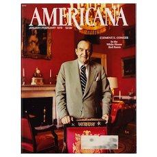 Americana Magazine January 1978 Vintage