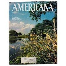 Americana Magazine March-April 1978 Vintage