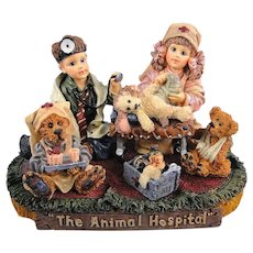 Boyds Bears Dollstone Animal Hospital Limited Edition Yesterday's Child