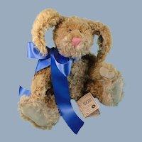 Boyds Mohair Bunny Martha Bunnycombe with Plush Catalog