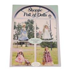Shoppe Full of Dolls Catalog 1988 Reference