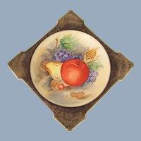 UCAGCO Hand Painted Ceramic Plate Occupied Japan