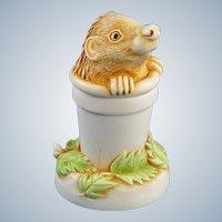 Harmony Kingdom Pot Sticker Hedgehog Mini Box Figurine