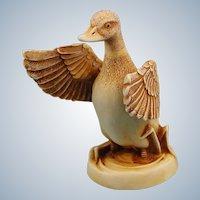 Harmony Kingdom Waddles Duck Netsuke Series