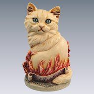 Harmony Kingdom Cosa Nostra Cat Phoenix Box Figurine