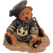 Boyds Bearstone Bear Christian by the Sea