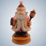 G. DeBrekht Bluebird Santa Musical Russian Limited Edition