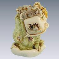 Harmony Kingdom Ed's Safari III Treasure Jest Box Figurine Dinosaur