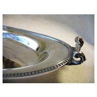 Vintage Derby Silver Bread Tray Handled