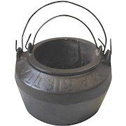Antique Marietta Pa Cast Iron Glue Melting Pot 2 Piece Size 00 Lancaster County