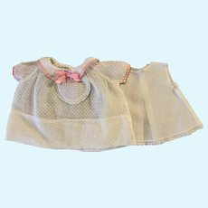 Dotted Swiss Baby Doll Dress Dy-Dee and Friends 1950s