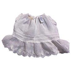 "American Character ""Petite"" Doll Dress 1930s"