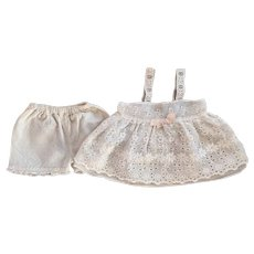 Lacy Slip and Underwear for Chubby Babies and Toddlers 1950s