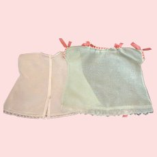 Green Organdy Dress and Slip for Mama Dolls and Baby Dolls