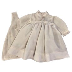 White Dress and Chemise for Large Baby Dolls