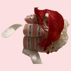 Half Hat for Bisque Dolls